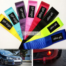 EDBETOS SSPARC Racing Car Styling Tow Straps Nylon High Strength Universal Tow Ropes FOR JDM SSPARC(China)