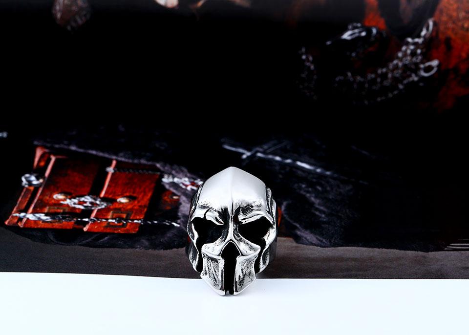 แหวนโคตรเท่ห์ Code 022 แหวน Spartan Warriors สแตนเลส2