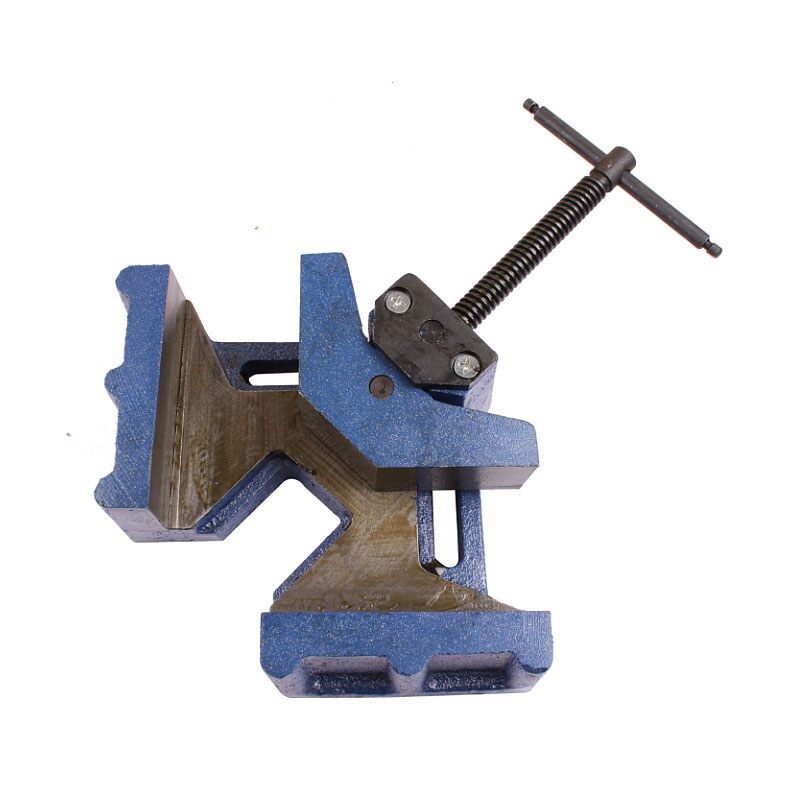 90 Degree Right Angle 4.5 Inch Welded Heavy Duty Welding Fixture Corner Clamp<br>