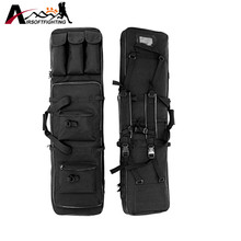 120cm Tactical Hunting Rifle Gun Holster Bag Airsoft Hunting Shooting Heavy Duty Waterproof Gun Pouch Handbag Black