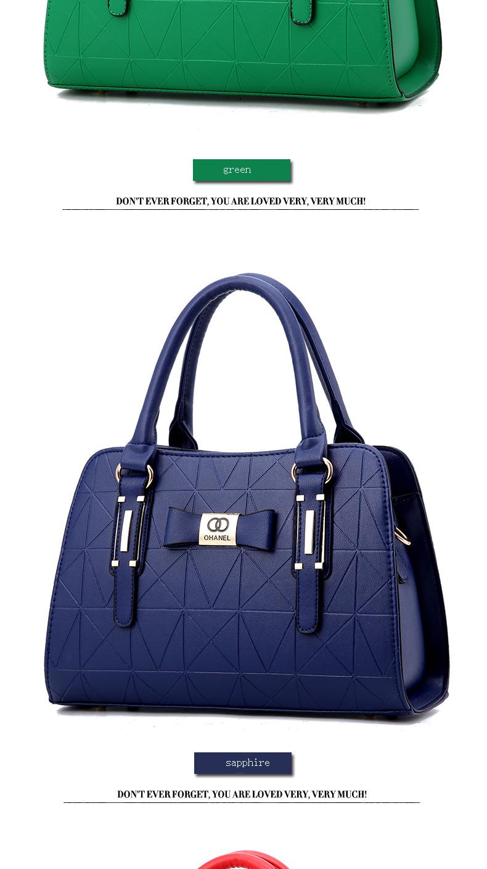 MICKY KEN Hot Sale Fashion Women Leather Handbag 9