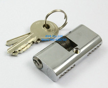 54mm x 27mm Home Office Closet Fire Door Lock Cylinder wIth 3 Keys(China)