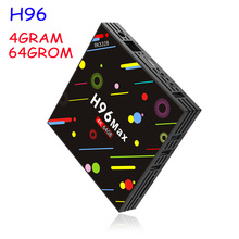 Buy H96 MAX-H2 TV Box Android 7.1 4G+64G TV Box RK3328 Quad Core 4K Smart TV HDR10 USB3.0 WiFi Bluetooth 4.0 Media Player for $71.34 in AliExpress store
