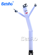 AD037 Free shipping 6m one leg inflatable air dancer for advertising,most popular inflatable advertising dancing man with blower(China)