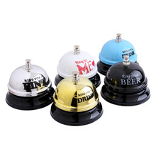 Desk Hotel Counter Reception Restaurant Bar Ringer Call Bell Service Wedding Gifts For Guests Christmas Navidad Party Favor(China)
