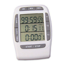 Countdown Cooking Timer Large LCD Display Reminders Mechanical Digital Timer Timing Alarm Clock Kitchen Gadgets