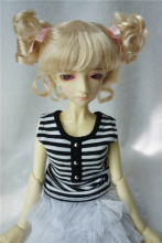 1/4 MSD doll wig  Charming Curl Doll Wigs 7-8inchDoll Accessories Synthetic Mohair doll Wigs