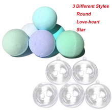 15Pcs DIY Bath Bomb Ball Shape Molds 3 Different Style Acrylic Balls Bathing Accessories for DIY Homemade Bath Bomb Shape Balls