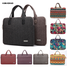 "2016 Handbag Brand Kayond Laptop Canvas Nylon Retro Bag Super Thin Light Laptop Sleeve Case For Macbook Computer12""13""14""15"""