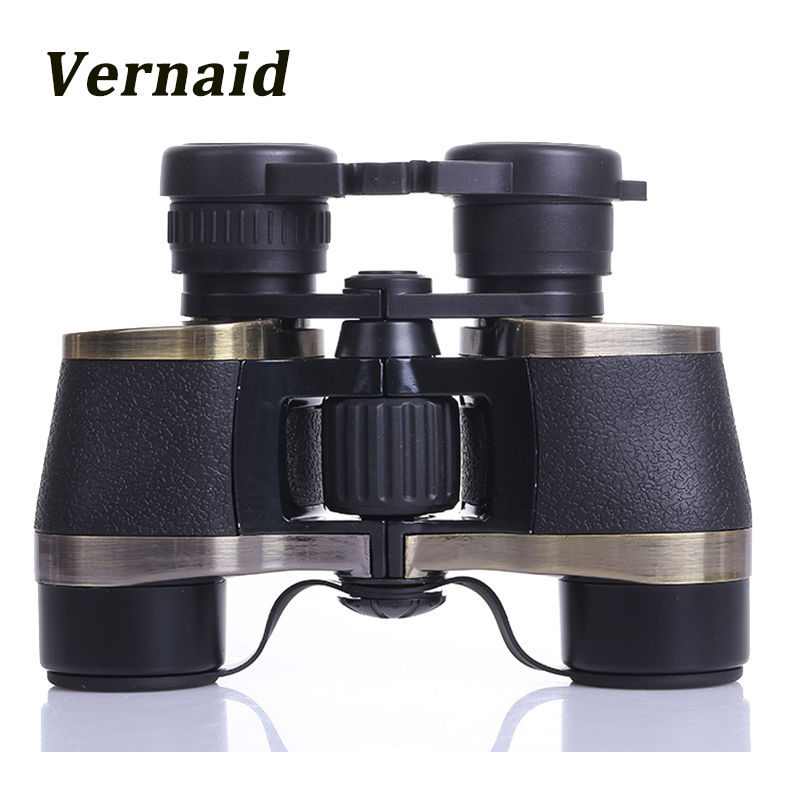 Metal 7X32 binoculars high-power high-definition telescope night vision Prism Zoom Lens for Hunting<br>