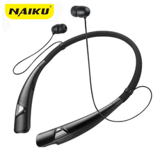 Original NAIKU 980 Bluetooth Headset for iPhone Samsung LG Wireless Mobile Earphone Bluetooth Headphones for Mobile Phone