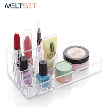 Makeup Organizer For Cosmetics Storage Box Jewelry Toiletry Container Makeup  Display Box Lipsticks Cosmetic Brush Holder Case