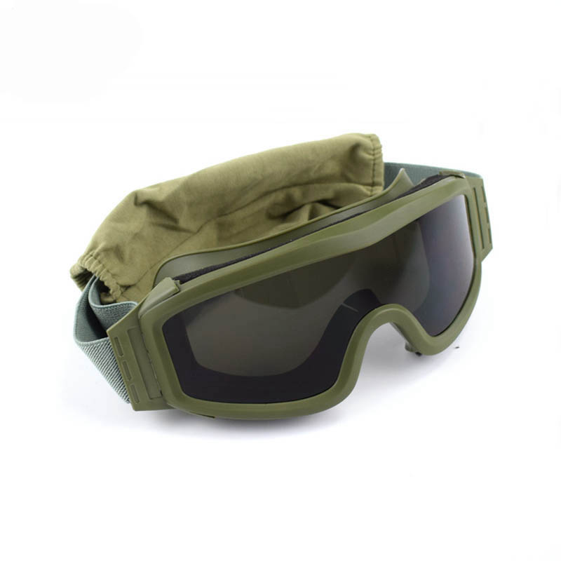 Airsoft Tactical Goggles Safety Glasses Army Combat Goggles 3 Interchangeable