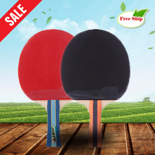 Free shipping Table tennis racket Pimples-in rubber Full Wood Ping Pong Racket bat Butterfly 5 star low price BF-04-001