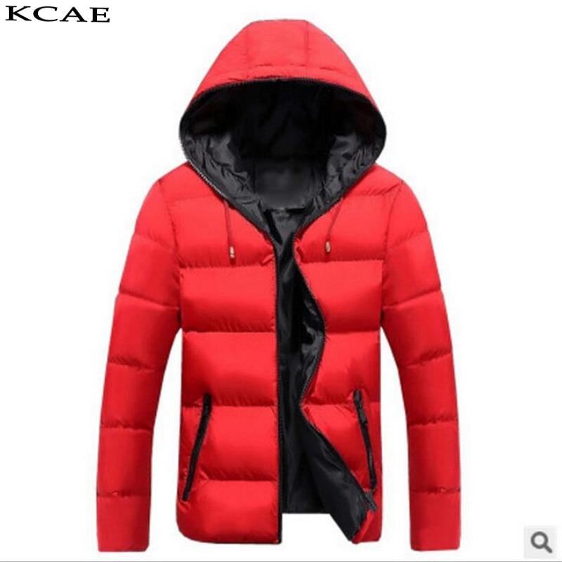 2016 Men Fashion Cotton hooded Duck Down Jacket Fashion Winter Down Coat Hood Jacket Free Shipping Îäåæäà è àêñåññóàðû<br><br>
