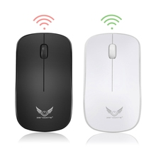 2.4Ghz Wifi Wireless Mouse 1600DPI 3 Keys Gamer Gaming Mouse Ergonomic Optical Mouse for PC Laptop Computer(China)