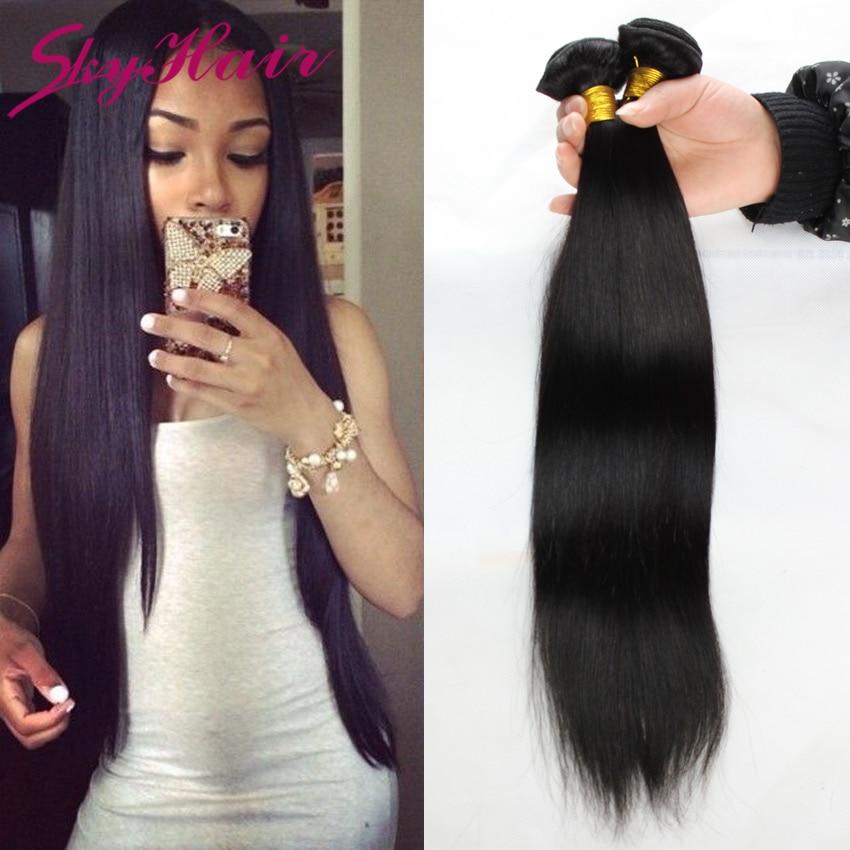 6a malaysian straight virgin hair 4pcs lot 100g/3.5oz sky hair unprocessed human hair weaves wholesale price malaysian straight<br><br>Aliexpress