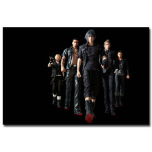 Final Fantasy XV Art Silk Fabric Poster Print 13x20 24x36 inch Vedio Game Noctis Pictures for Living Room Wall Decor 039