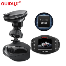 QUIDUX Novatek 96658 mini Car DVR with wifi Full HD 1080P car camera 140 degree Vehicle WDR/Night Vision Function dash cam(China)