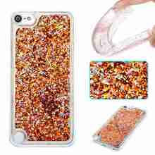 for iPod Touch 6 5 Dynamic Liquid Glitter Paillette Cases for iPod Touch 5/6 Bling Quicksand Back Cover Soft TPU Silicone Case