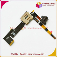 20pcs/lot wholesale ,For Ipad 2 Audio headphone jack flex cable(3G version),High Quality,Fast Free shipping(China)