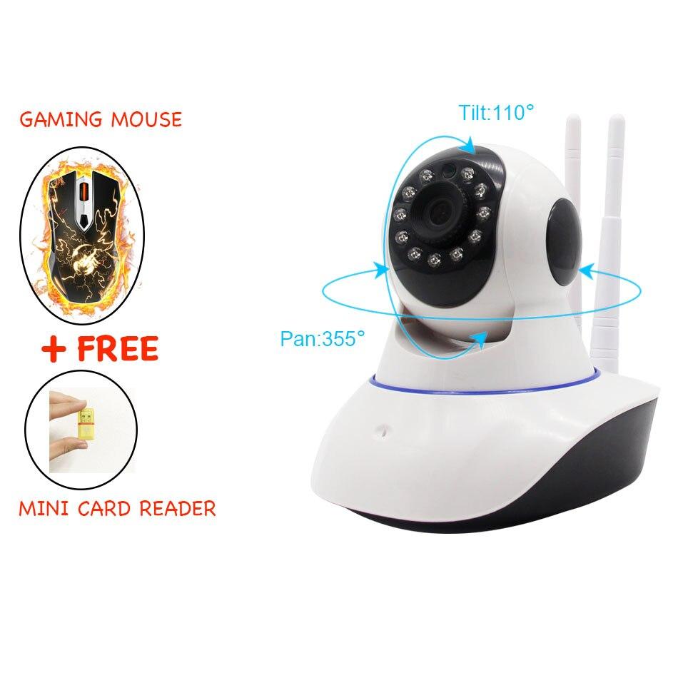 720P HD IP Kamera Wi-fi Video Surveillance CCTV Cameras P2P Wireless Pan Title Home Wifi Camera PTZ With Motion Sensor Yoosee<br>