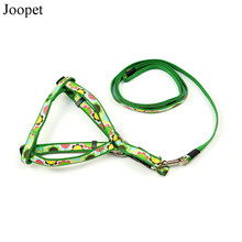 New Designer Pet Products for Dog Cat Nylon Harness and Leash with High Quality Metal Buckle Supplies