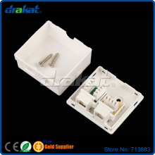 Network Telephone RJ45 RJ11 Connection Box(China)