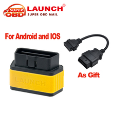 2017 100% Original Launch X431 EasyDiag For Android/iOS 2 in 1 Diagnostic Tool + OBD 16 Pin Extension cable as Gift Free Shpping