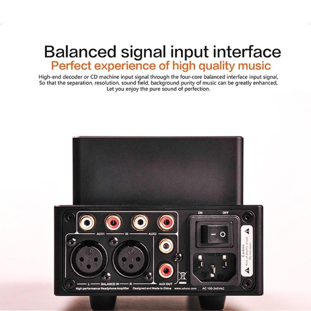 NEW XDUOO TA-20 12AU7 HIFI AUDIO High Performance Balanced Tube Headphone Amplifier Preamplifier