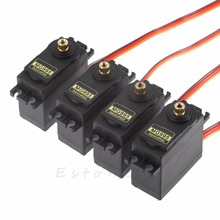 4pcs RC Servo MG995 Metal Gear High Speed Torque of airplane car boat(China)