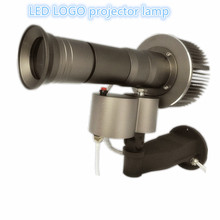 Custom HD Projector lamp 30W 40W 60W 20000 Lumens LED Rotating Logo advertising Dynamic Gobo with 1pcs 3 Colors Gobo lens(China)