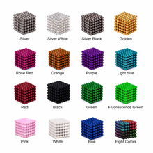3/5mm 216pcs Magnetic Neo Cube balls Magic Puzzle Block for Child Cubes Educational Toys Vacuum Pakcage Metaballs With Bag+Card(China)