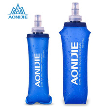 AONIJIE 2017 TPU Water Bag Foldable Soft Flask Outdoor Sport Camping Climbing Drink Water Bags Bladder Bottles 170ml/250ml/500mL