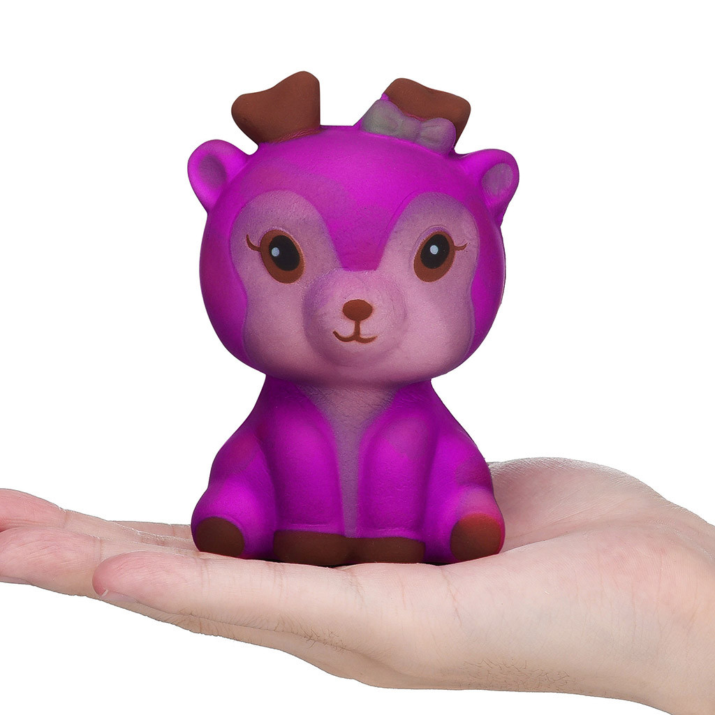Color Change Deer Slow Rising Squishy Toy 5