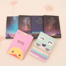 50 Sheets/Pack Makeup Facial Face Clean Oil Absorbing Blotting Papers Beauty Tools Pattern Random New Arrival(China)