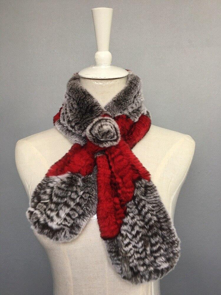 natural rabbit fur scarves (6)