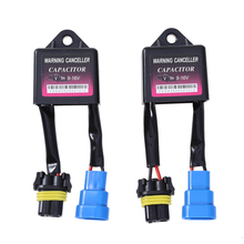2pcs Warning Decoder Canceller Resister Error Code Free Canbus Wiring Harness ANTI-FLICKER For Xenon For HID Light Decode Device