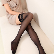Fashion Women Sexy Lace Top Stay Up Thigh-Highs Stockings Tights Black New wholesale priceFemale stockings medias