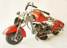 Free shipping Antique Metal handicrafts motorcycle model creative home/pub/office decoration Iron Craft(China)