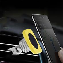 Universal Magnetic Car Air Vent Outlet Mobile Phone Holder Sucker Smartphone Stand Mount Bracket Support Colorful Phone Holder