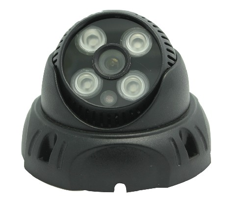 12V2A + 720P HD Network IP Camera Plastic Dome indoor 4IR light night vision security P2P<br><br>Aliexpress