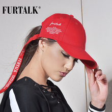 FURTALK caps for women and men baseball cap fashion brand summer snapback boating skiing climbing Windcap for windy days(China)