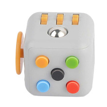The new anti anxiety stress cube fidget spinner, fidget cube toy dice, anti stress toys magic cube toy