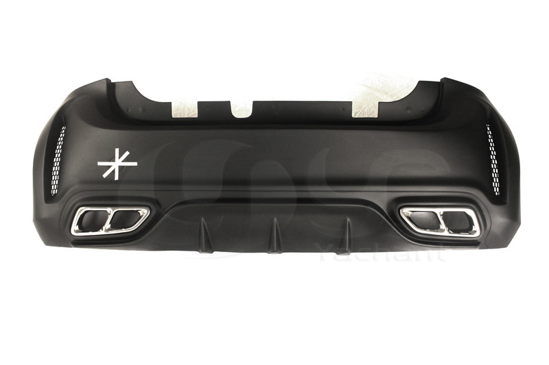 2015-2017 Smart Fortwo C453 & Forfour W453 AMG Style Rear Bumper FRP (1)