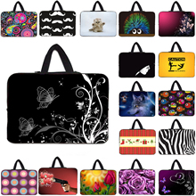 13.3 Inch Women Sleeve Computer Soft Bag For Lenovo HP Macbook 13 15 14 12 10 17 Inch Neoprene Handbag Laptop Notebook Bag Cases