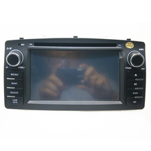 6.2 inch 2 din car dvd radio audio for BYD F3 Toyota corolla E120 with GPS,Bluetooth,IPOD,MAP,3G,DVD player