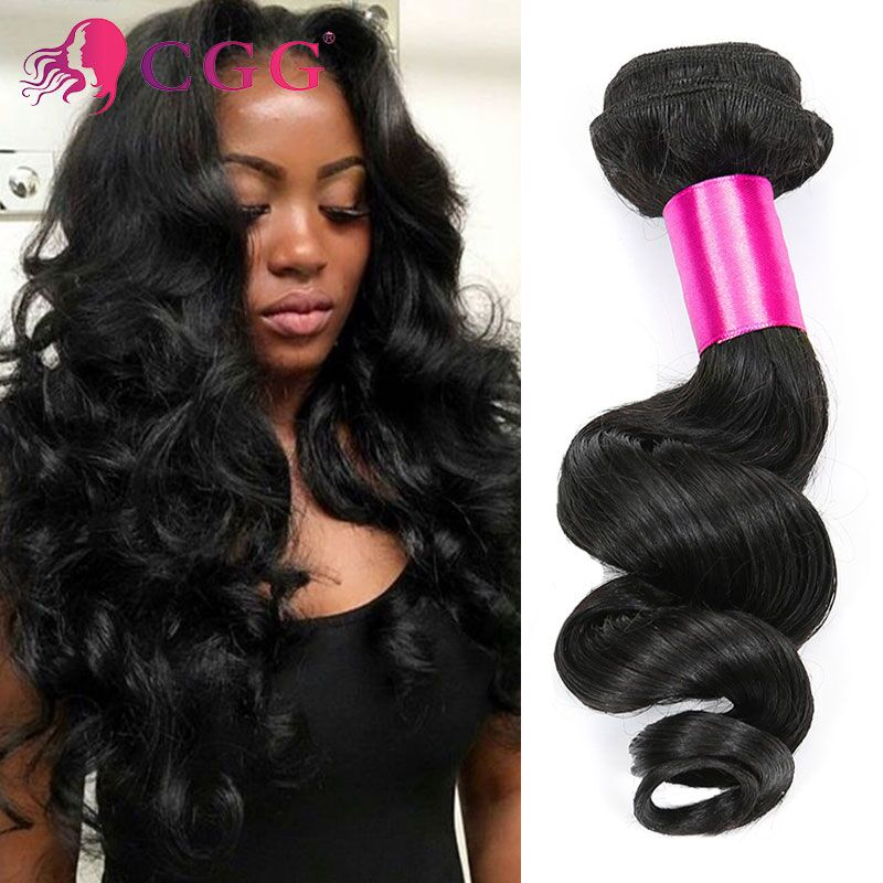 Peruvian Loose Wave 4Pcs/lot 7A Unprocessed Human Hair Weave Bundles Peruvian Virgin Hair Loose Wave Peruvian Curly Hair Bundles<br><br>Aliexpress