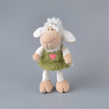 Green Color Skirt Sheep Stuffed Plush Toy, NICI Baby Kids Toy Gift Free Shipping
