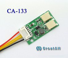 CA-133 dual-port LED constant current dual-lamp LED step-down drive power 9.6V output constant current source